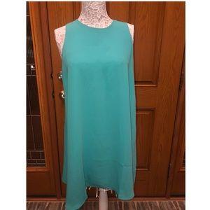 Adrienne Vittadini Seafoam Green Dress